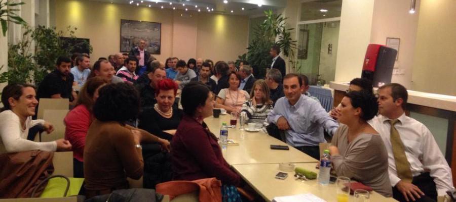 Συγκέντρωση ενημέρωσης και συνεργασίας της δημοτικής παράταξης «Η Σύρος που αξίζουμε»