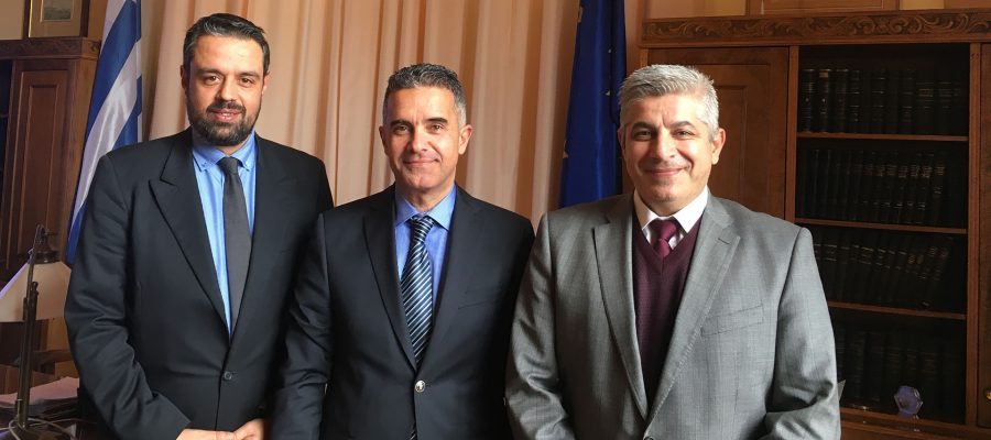 Συνάντηση Δημάρχου Σύρου-Ερμούπολης με στελέχη της εταιρείας ONEX S.A.