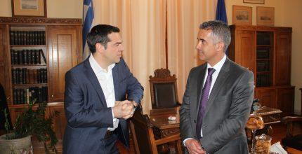 Επίσκεψη Πρωθυπουργού Αλέξη Τσίπρα στη Σύρο