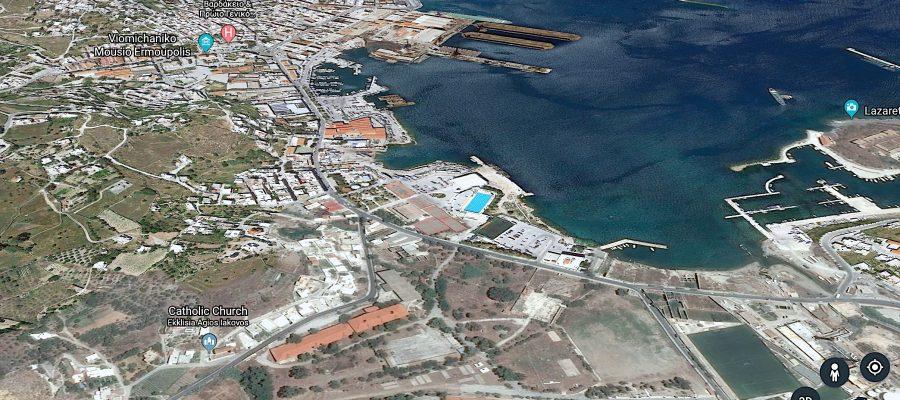Πρόταση ελληνοαμερικανικής εταιρείας ONEX προς τον Δήμο Σύρου – Ερμούπολης για αξιοποίηση Στρατοπέδου