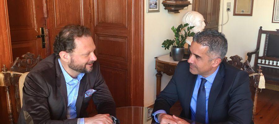 Συνάντηση Δημάρχου με Πρόεδρο ΟΝΕΧ
