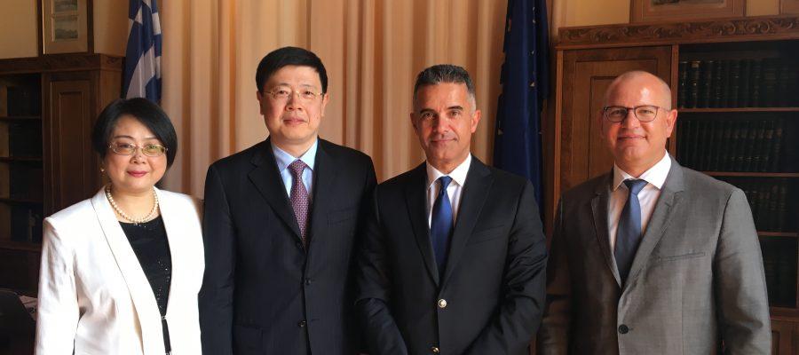 Συνάντηση Δημάρχου με Πρέσβη Κίνας