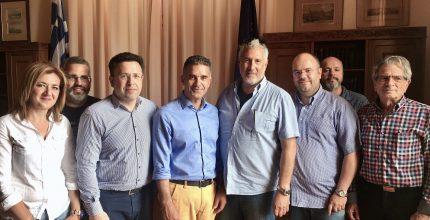 Υπογραφή Σύμβασης για το έργο «Αντικατάσταση – Βελτίωση Δικτύου Ύδρευσης Ποσειδωνίας, Φοίνικα ν. Σύρου»