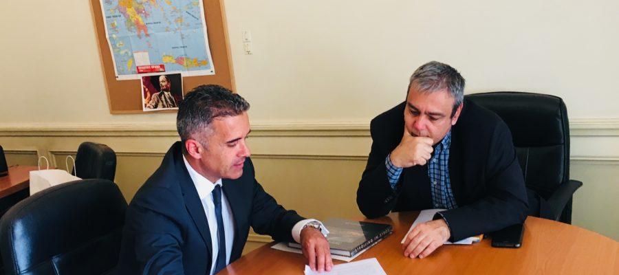 Συνάντηση Δημάρχου με Υπουργό Επικρατείας