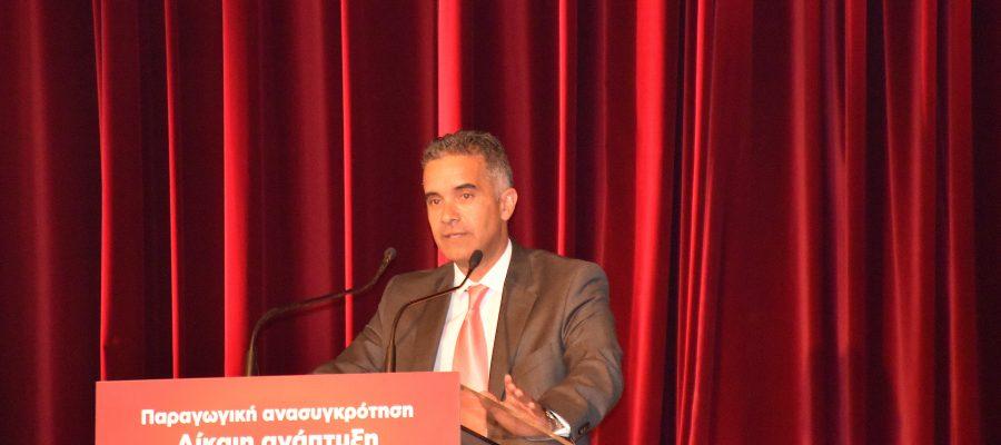 Άξονες ομιλίας Δημάρχου στη λήξη των εργασιών του 15ου Περιφερειακού Αναπτυξιακού Συνεδρίου