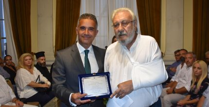 Aνακήρυξη του κ. Στυλιανού Νιώτη σε Επίτιμο Δημότη Σύρου – Ερμούπολης
