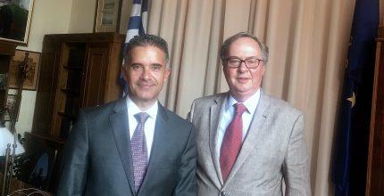 Επίσημη επίσκεψη του Πρέσβη της Βραζιλίας στη Σύρο