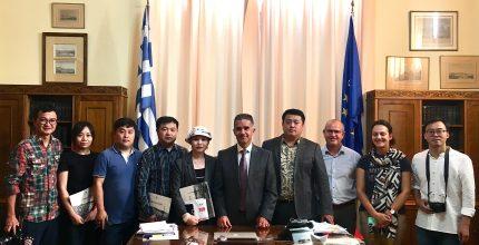 Συνάντηση Δημάρχου με κινεζική αποστολή