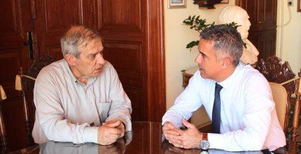 Συνάντηση Δημάρχου με Συντονιστή Ένταξης Έργων Αεροδρομίων στο ΕΣΠΑ