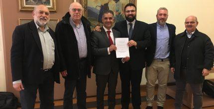 Υπεγράφη η Προγραμματική Σύμβαση για την επισκευή και αναβάθμιση του ανοικτού Δημοτικού Γυμναστηρίου στα Πευκάκια