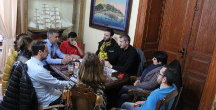 Συνάντηση Δημάρχου με τον Σύλλογο Δρομέων Σύρου