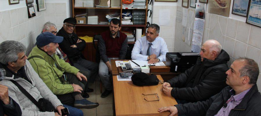 Συνάντηση Δημάρχου με την Ένωση Συνταξιούχων Ναυτικών Σύρου και τον Σύλλογο Γυναικών Ναυτικών Σύρου «Άγκυρα»