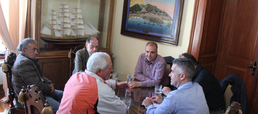 Συνάντηση Δημάρχου με τον Σύλλογο Επαγγελματιών Αλιέων Σύρου