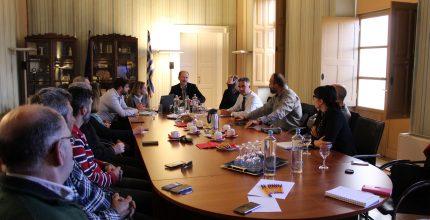 Συνάντηση Δημάρχου με Επιμελητήριο Κυκλάδων
