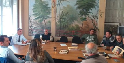 Συνάντηση Δημάρχου στο Εργατικό Κέντρο Κυκλάδων