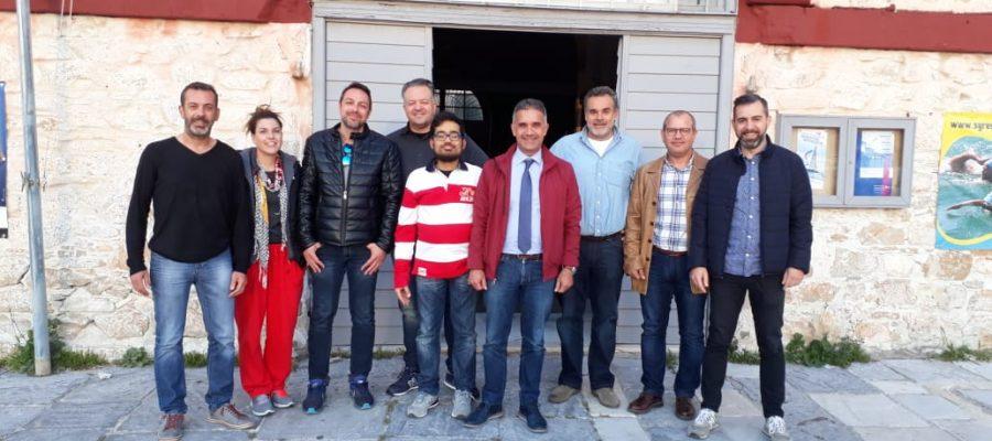 Συνάντηση Δημάρχου με τον Ναυτικό Όμιλο Σύρου