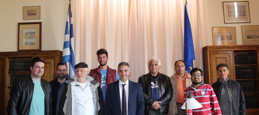 Συνάντηση Δημάρχου με την Ομάδα Πεζοπόρων Σύρου