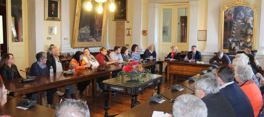 Συνάντηση Δημάρχου με Πολιτιστικούς Συλλόγους