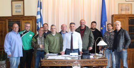 Συνάντηση Δημάρχου με τον Σκοπευτικό Όμιλο Σύρου