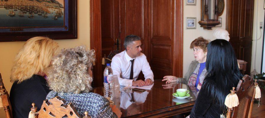 Συνάντηση Δημάρχου με την επιμελήτρια ανηλίκων της «ΣΤΕΓΗΣ»