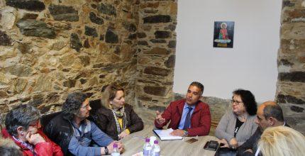 Συνάντηση Δημάρχου με Σύλλογο Καρκινοπαθών και Φίλων Κυκλάδων
