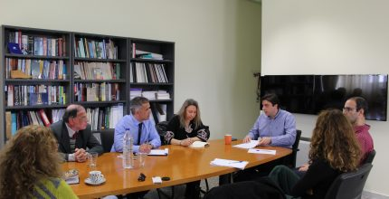 Συνάντηση Δημάρχου στο Πανεπιστήμιο Αιγαίου