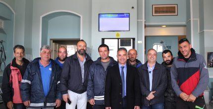 Συνάντηση Δημάρχου με Σωματείο Καβοδετών Σύρου
