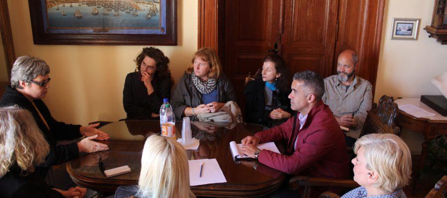 Συνάντηση Δημάρχου με την Αρχιμουσικό της Φιλαρμονικής και τον Σύλλογο Φίλων Μουσικής Σύρου