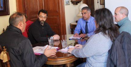 Συνάντηση Δημάρχου με τον Εμπορικό Σύλλογο Σύρου