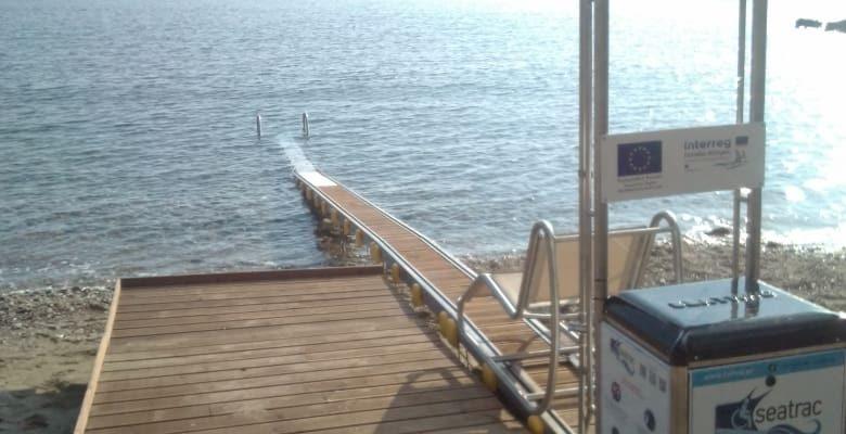 Τοποθέτηση σύγχρονου εξοπλισμού προσβασιμότητας για ΑμεΑ στις παραλίες Βάρης και Βούλγαρη