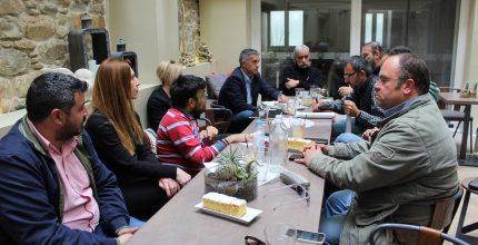 Συνάντηση Δημάρχου με τον Σύλλογο Μελετητών Μηχανικών Ν. Κυκλάδων